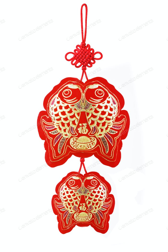 Auspicious Fish Ornaments