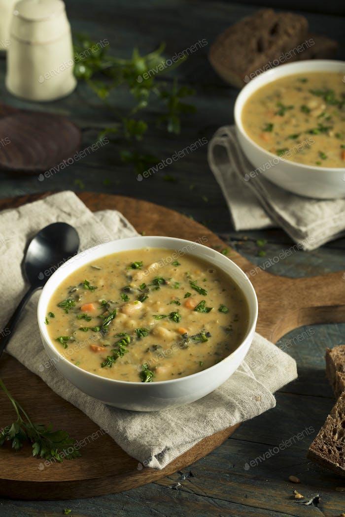 Homemade White Bean Soup