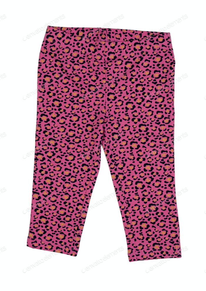 pink leopard print leggings