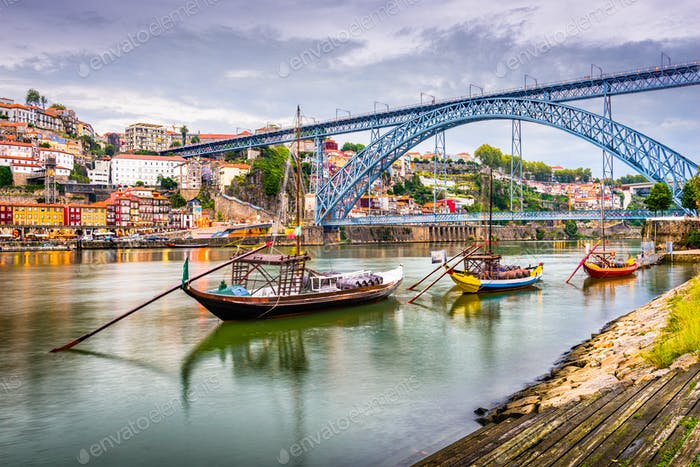 Porto, Portugal River View