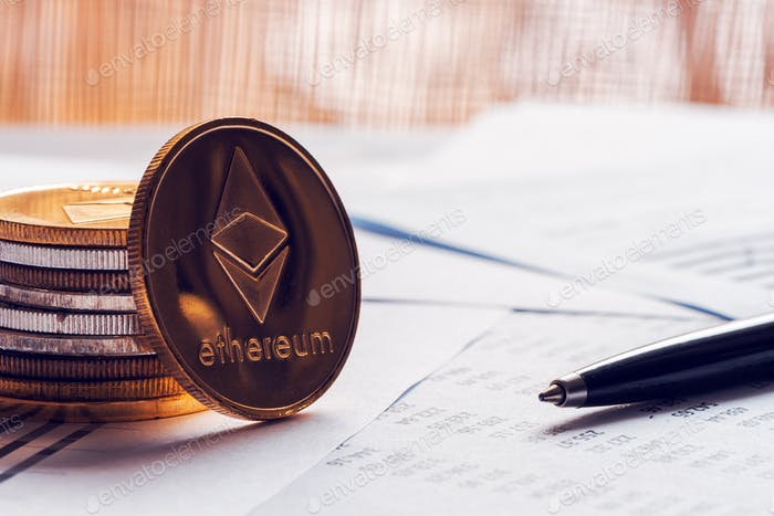 Ethereum cryptocurrency coinage