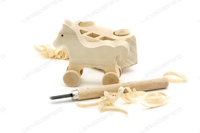 Carved Wooden Toys