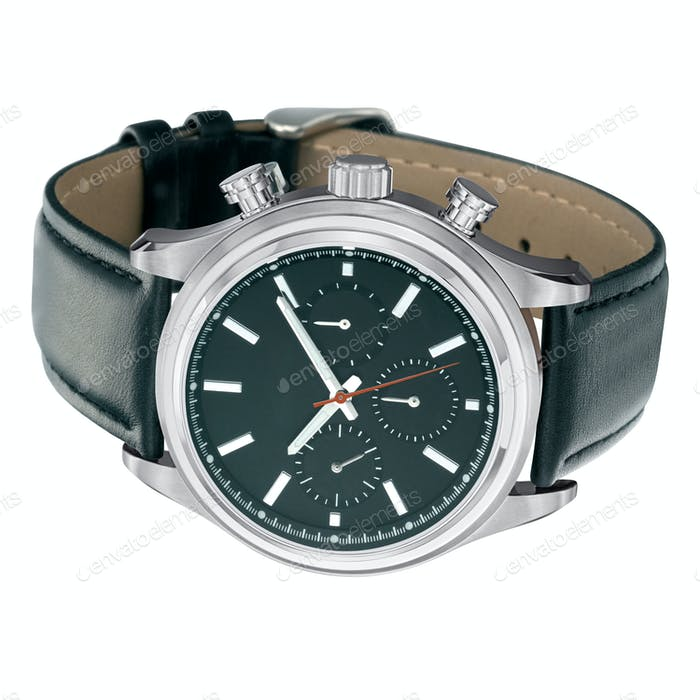 swiss mechanical wrist watch