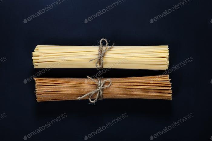 Bündel von Spaghetti