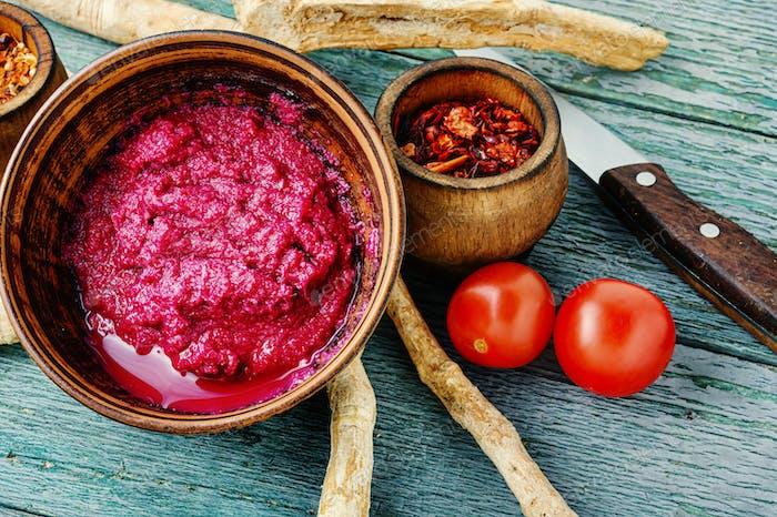 Spicy horseradish sauce