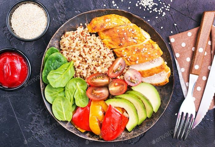 Comida dietéticos