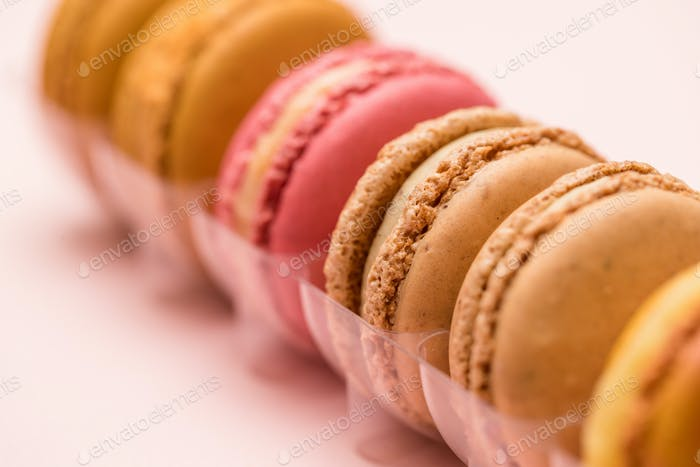 Macaron in the package