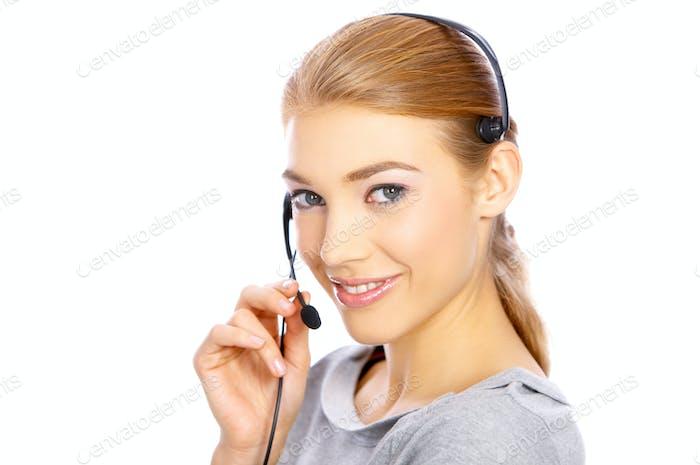 Mädchen mit Kopfhörer
