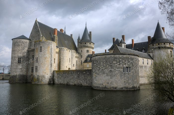 The Chateau of Sully Sur Loire