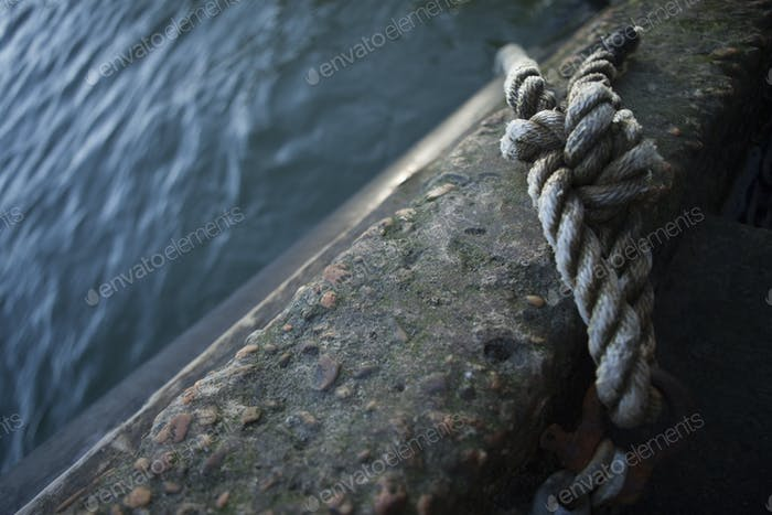 Node of a rope