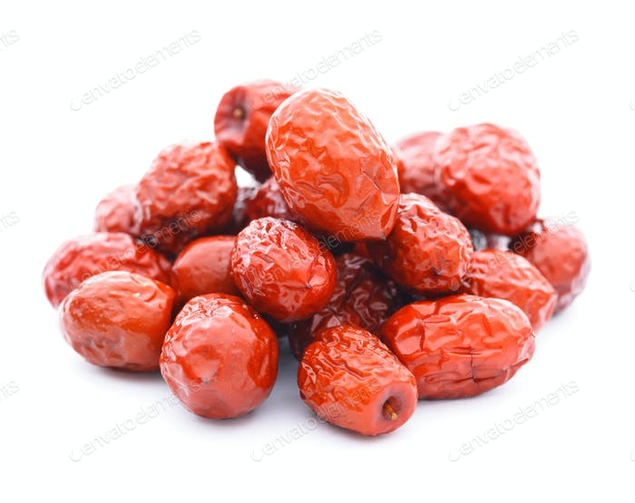 getrocknete Jujube Früchte