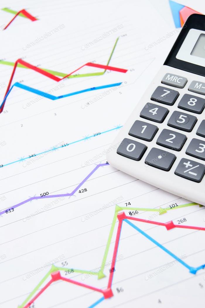 La calculadora y los gráficos.