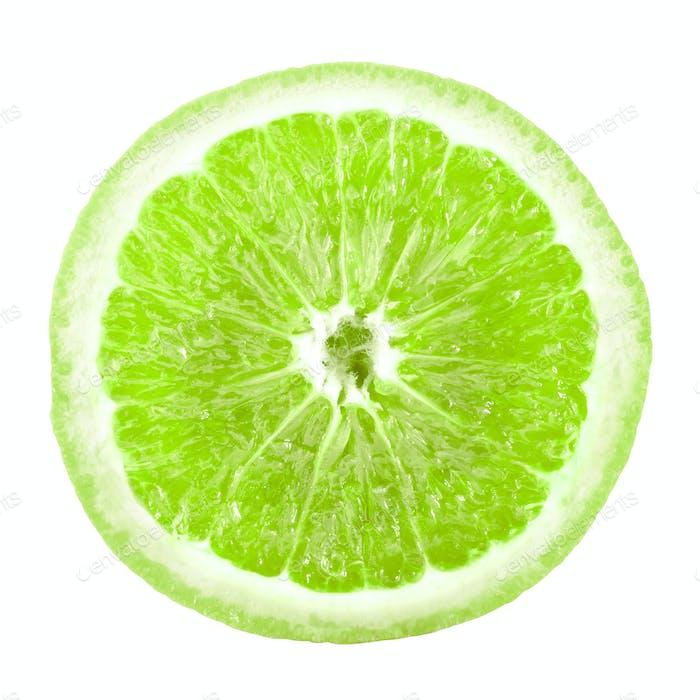 Limettenscheibe