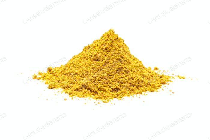 Pile of Turmeric
