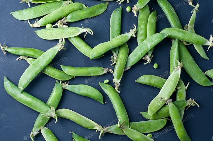 snow peas cooked