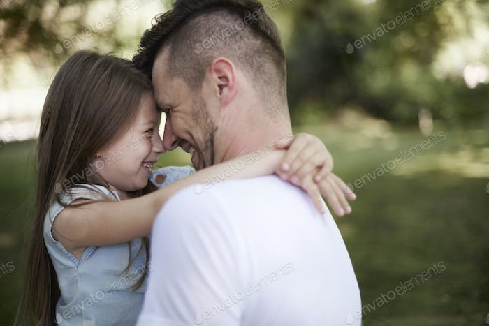 Relation between daughter and father is very strong