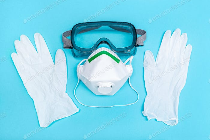 Safety equipment or Protective suit to fight to Coronavirus COVID-19 virus outbreak