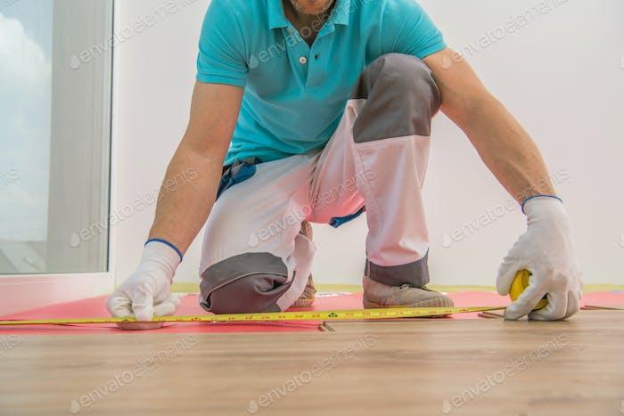 Installing New Floor Panels