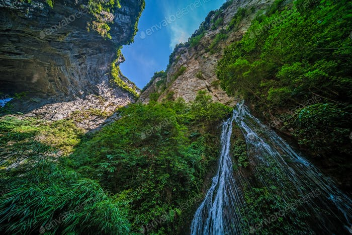 Waterfall in Wulong National Park