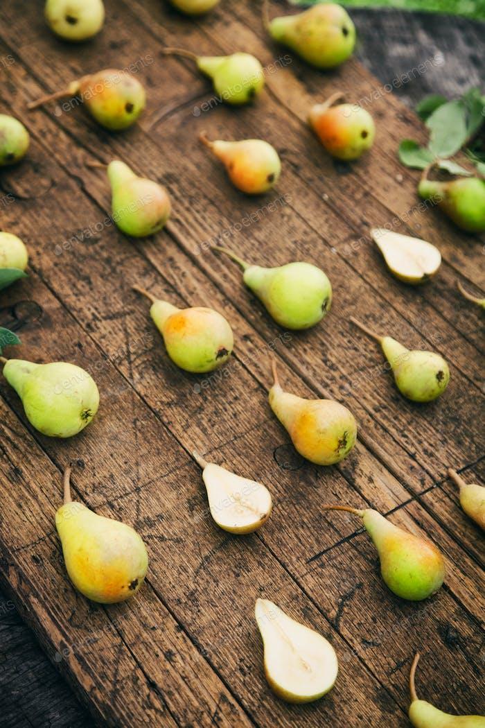 Frische Birnen