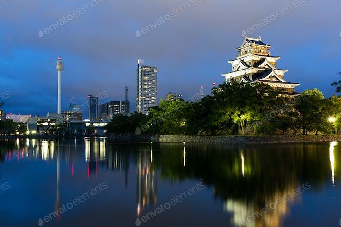 Japanese Castle in Hiroshima