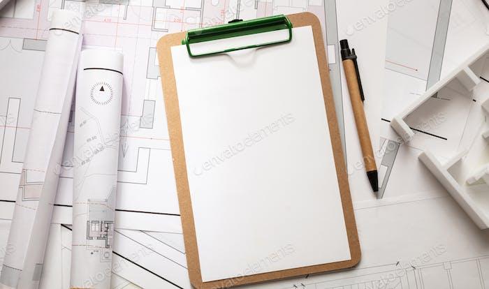 Baukonzept Baupläne für Wohngebäude und Bürobedarf
