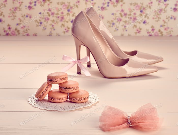 Fashion, macarons