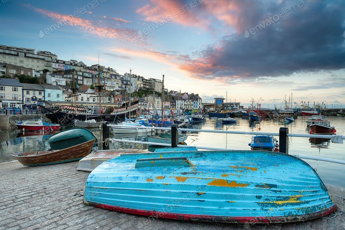 Sunset at Brixham