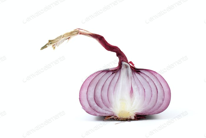 Half of red onion