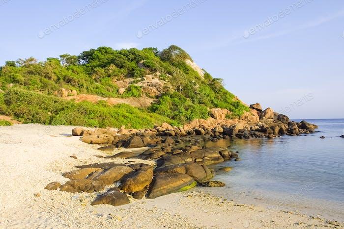 Pigeon Island In Sri Lanka Foto Von Zambezi Auf Envato Elements