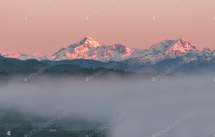 Highest peaks in Julian Alps