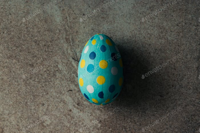 Dotted Easter egg
