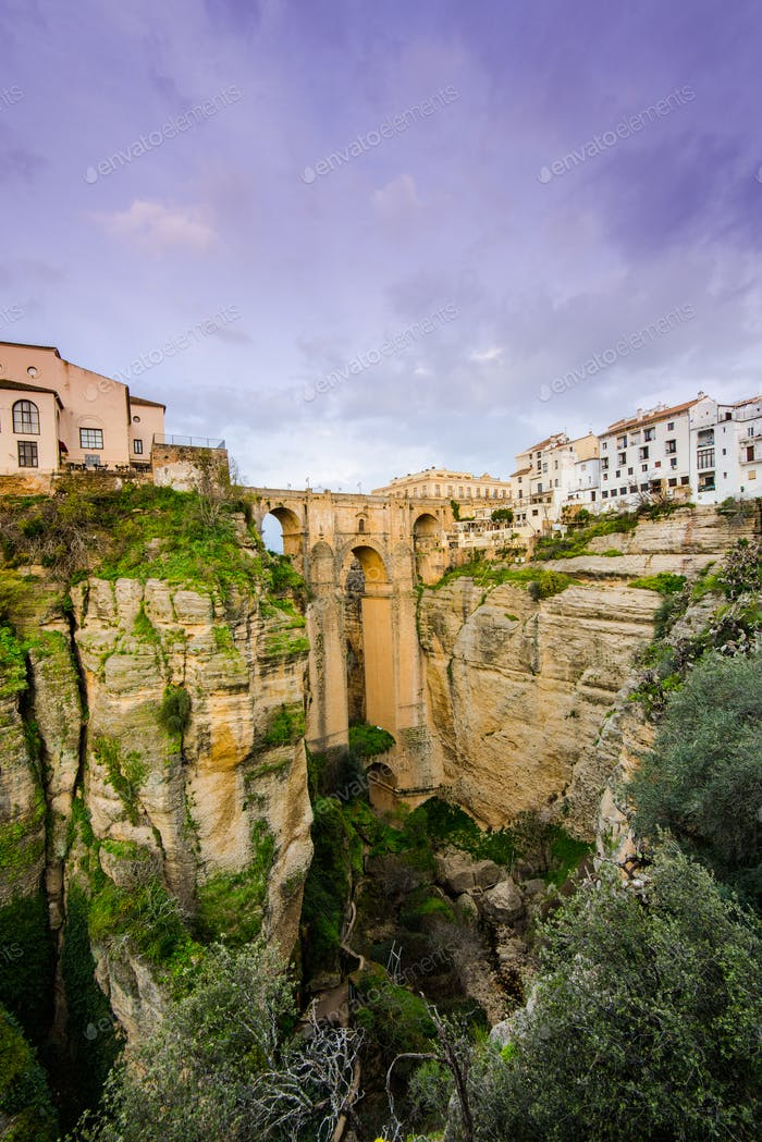 New Bridge or Puente Nuevo in Ronda,Spain