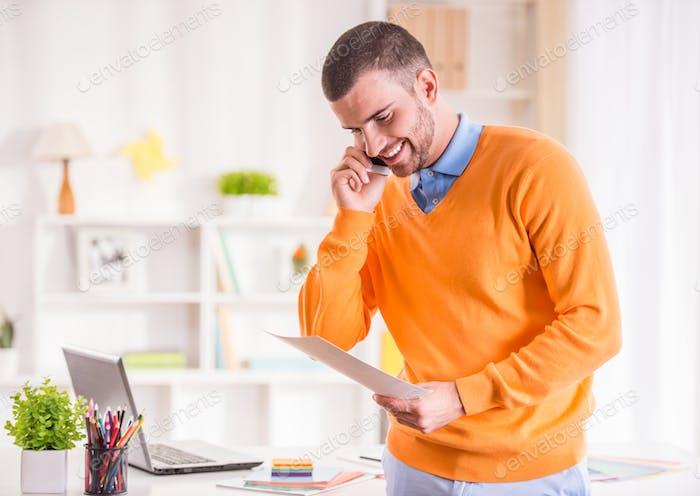 Мужские офисные работы