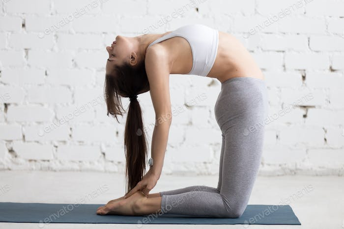Yoga Indoors: Camel Pose
