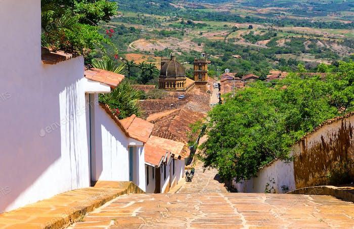 Barichara Town View