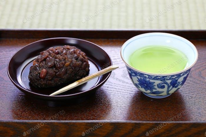 ohagi ( botamochi ), japanese confection