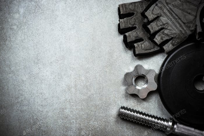 Items related to gym and training