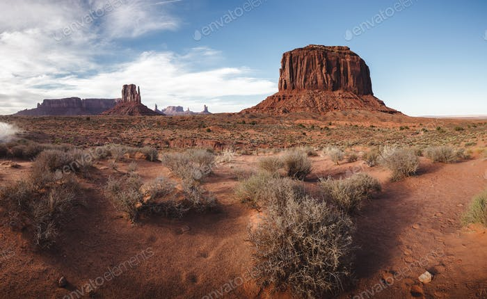 Late afternoon in Monument Valley, Utah, USA