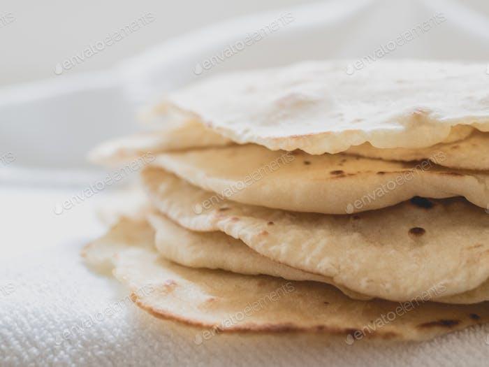 Fresh Homemade Tortillas