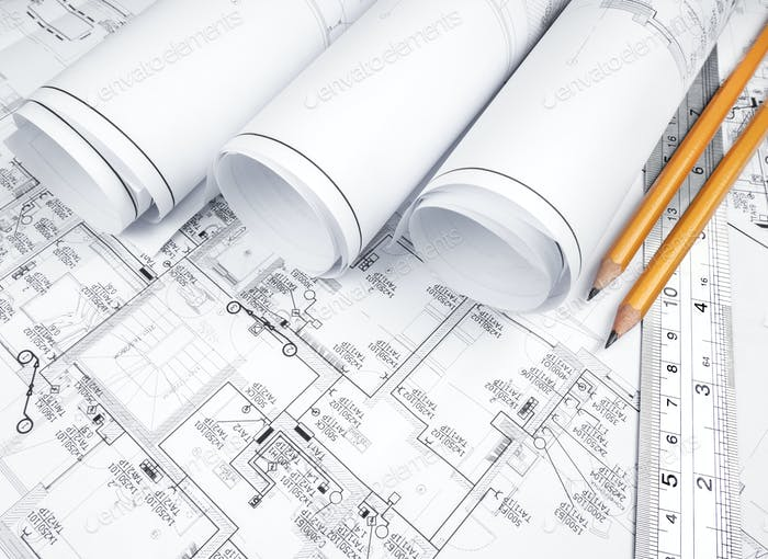 The plan of electrical installation