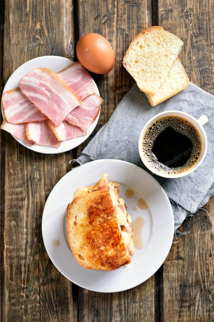 Frühstück, Draufsicht