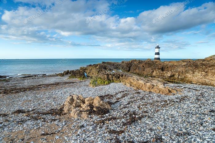 Trwyn Du Lighthouse in Wales