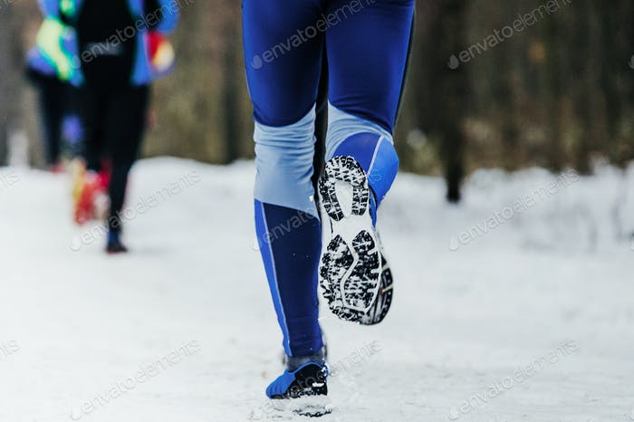 Closeup Legs Runner