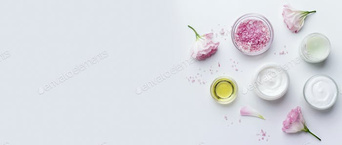 Rose aroma cosmetic products for natural beauty treatment