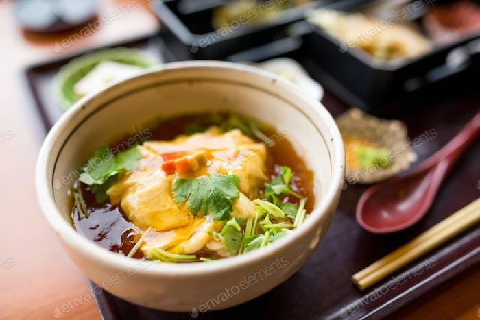 Japanese Tofu soup