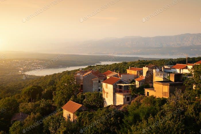 Soline bay view in Dobrinj