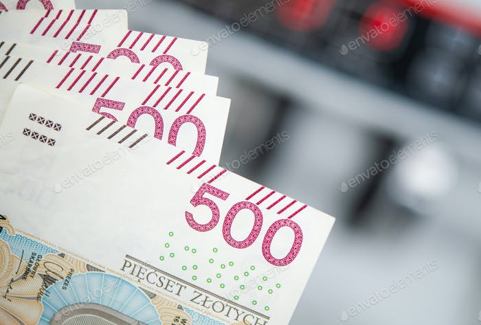 Polish Currency Banknotes