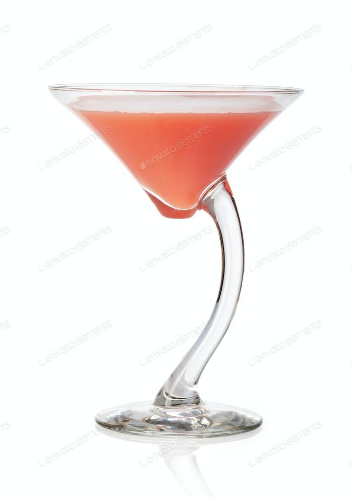 Kosmopolitischer Kirsch-Martini-Cocktail