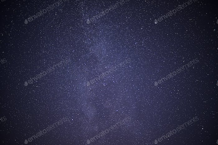 Night Sky with stars and the milky way